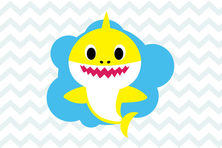 Baby Shark Svg Free Shark Svg Free Shark Family Svg Instant Download Birthday Svg Baby Shark Svg Free Dxf Png Cut File Eps 0049 Freesvgplanet