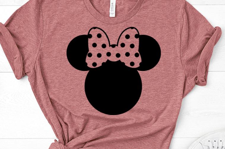 Chevron Minnie cut file Chevron Mickey and Minnie Svg Minnie Mouse Svg Minnie Mouse svg Instant Download Disney Svg Files