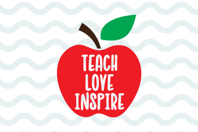 799+ Teach Love Inspire Svg Free for DIY T-shirt, Mug, Decoration and more