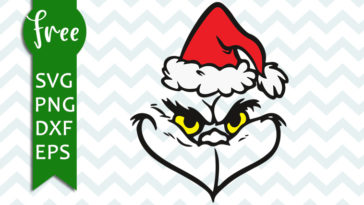 Free Grinch Face Svg File Christmas Svg Grinch Svg File Instant Download Cartoon Svg Vector Free Files Free Grinch Cut File Png Dxf 0146 Freesvgplanet