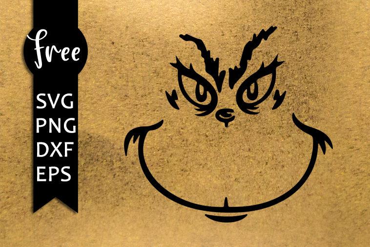 Download Grinch face svg, christmas free svg, grinch svg file ...