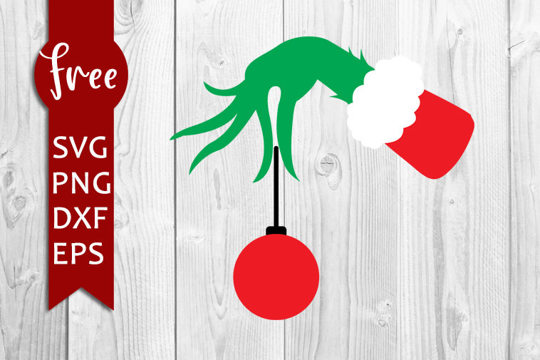 Download Grinch hand svg free, christmas cut files, free cricut ...