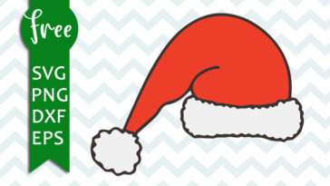 Santa Svg Free Christmas Svg Father Christmas Svg Instant Download Free Vector Files Christmas Vector Free Santa Sleigh Svg Png Dxf 0159 Freesvgplanet