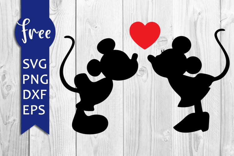 Mickey Minnie Kiss Svg Free Disney Svg Free Mickey Svg Free Digital Download Shirt Design Love Svg Valentines Svg Mouse Png Dxf 0197 Freesvgplanet