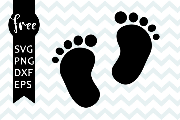 Baby feet svg free, baby svg, feet svg, instant download ...