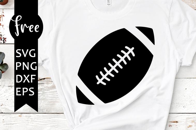 Football Svg Free Sport Svg Ball Svg Instant Download Silhouette Cameo Shirt Design Sport Balls Svg Free Vector Files Png Dxf Eps 0296 Freesvgplanet