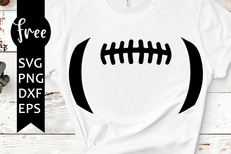 Football Laces Svg Free Sport Svg Football Svg Instant Download Silhouette Cameo Shirt Design Laces Svg Free Vector Files Png Dxf 0295 Freesvgplanet