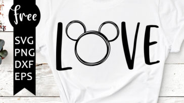 Download Love disney svg free, love mickey mouse svg, disney svg ...
