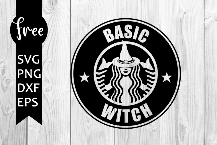 Basic Witch Svg Free Halloween Svg Witch Svg Digital Download Silhouette Cameo Free Vector Files Coffee Svg Shirt Design Png 0456 Freesvgplanet