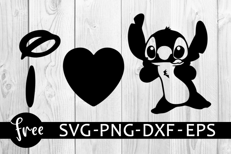 Lilo And Stitch Svg Free Disney Svg Stitch Svg Instant Download Heart Svg Shirt Design Silhouette Cameo Free Vector Files Png Dxf 0336 Freesvgplanet