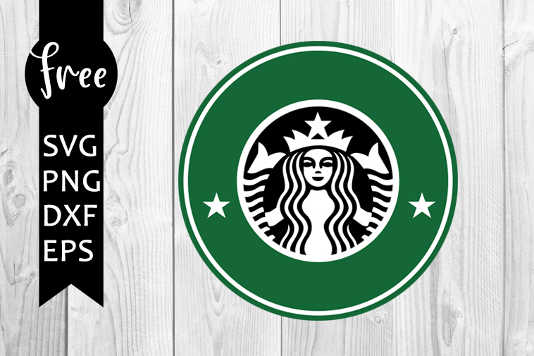 Starbucks Svg Free Coffee Svg Logo Svg Instant Download Silhouette Cameo Shirt Design Star Bucks Svg Free Vector Files Png Dxf 0402 Freesvgplanet