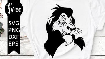 Scar Svg Free Cartoon Svg Lion King Svg Instant Download Shirt Design Free Vector Files Outline Svg Free Disney Character Svg Files 0682 Freesvgplanet The tragedie of scar, king of pride rock. scar svg free cartoon svg lion king