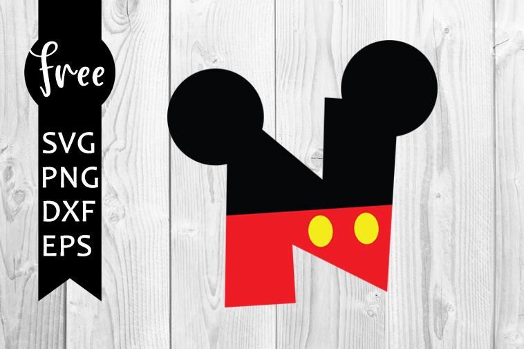 Micky font svg, n svg, disney svg, instant download, alphabet svg, silhouette cameo, disney font