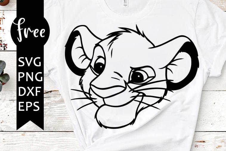 Lion King Simba Big Older Classic Disney Cartoon Instant Download Vector Art Cricut Cut Design Print svg png jog dxf ai Files
