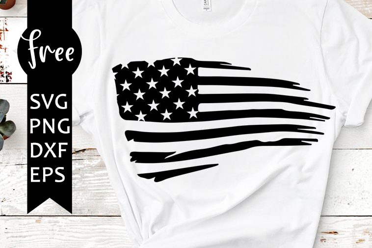 American Flag Svg Free 4th Of July Svg Usa Svg Instant Download Silhouette Cameo Shirt Design Flag Svg Free Vector Files Png 0796 Freesvgplanet