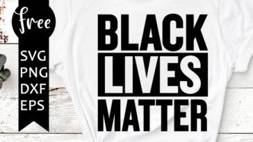 Black Lives Matter Svg Freesvgplanet
