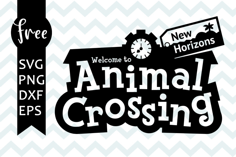 Animal Crossing Svg Free Logo Svg New Horizons Svg Instant