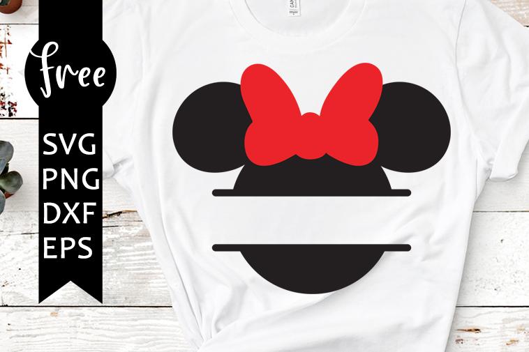 Minnie Monogram Svg Free Disney Svg Minnie Mouse Svg Instant Download Silhouette Cameo Free Vector Files Monogram Svg 0900 Freesvgplanet